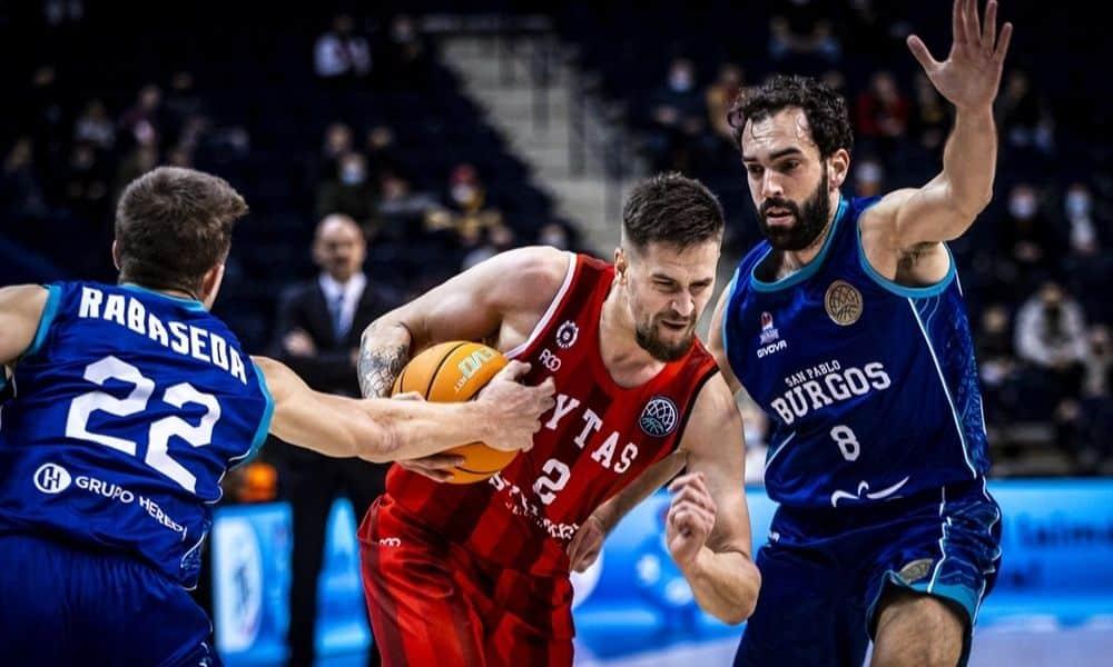 Benite - San Pablo Burgos - CHampions League de basquete masculino