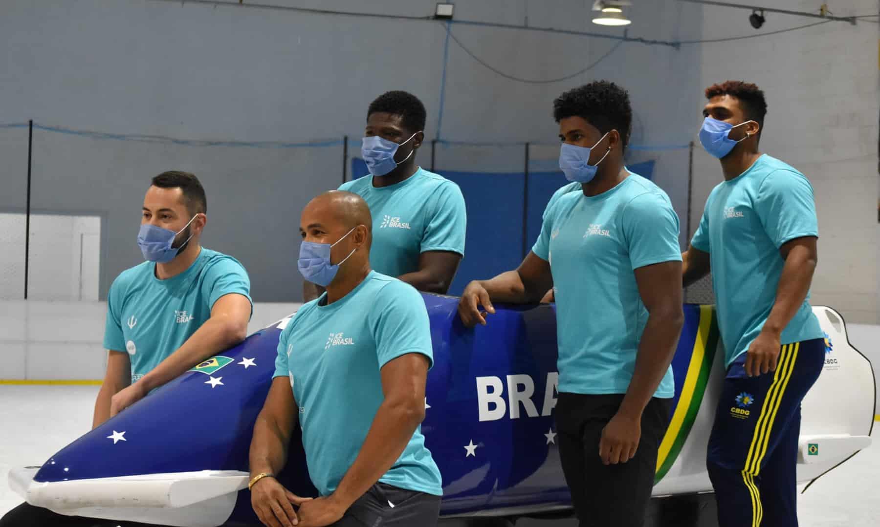 Bobsled brasileiro quer conquistar um bom resultado em Pequim-2022 para comprovar evolução
