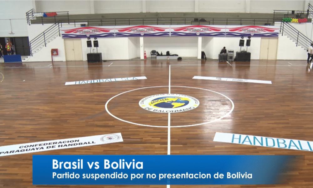 Brasil x Bolívia - handebol feminino