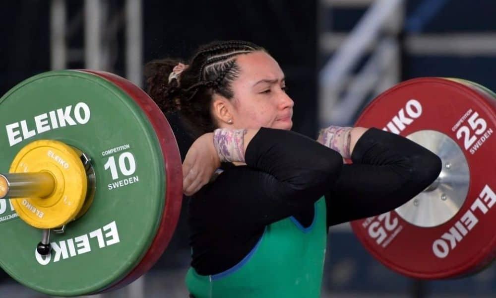 Beatriz Martinho é bronze no Pan-Americano de levantamento de peso