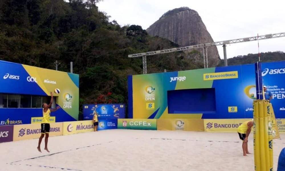 Circuito Brasileiro Sub-19 de Vôlei de Praia -1ª Etapa - Rio de Janeiro