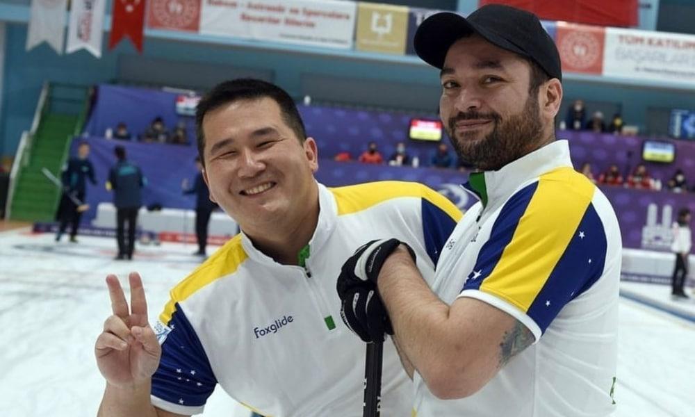 Brasil fecha Classificatório para o Pré-Olímpico de curling com derrota