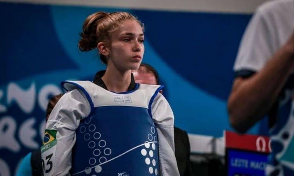 Sandy Macedo é ouro no Aberto de Montenegro de Taekwondo