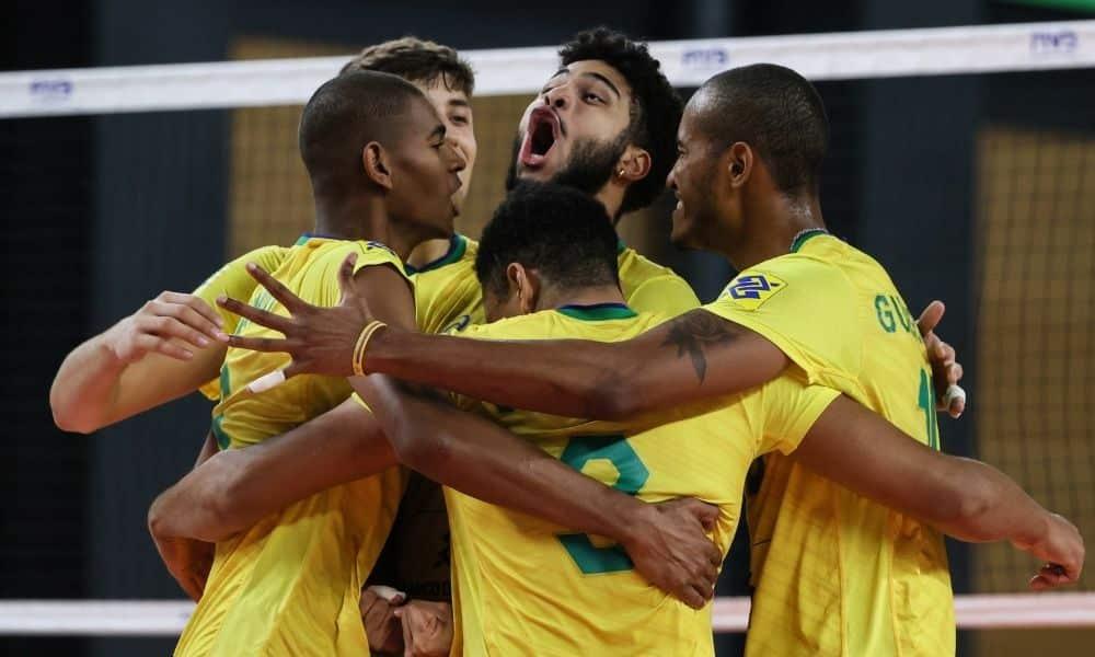 Brasil x Bélgica - Mundial Sub-21 masculino de vôlei