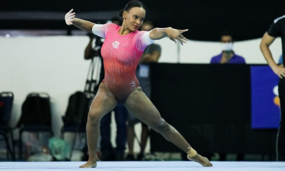 rebecca andrade ginástica artística campeonato brasileiro flamengo