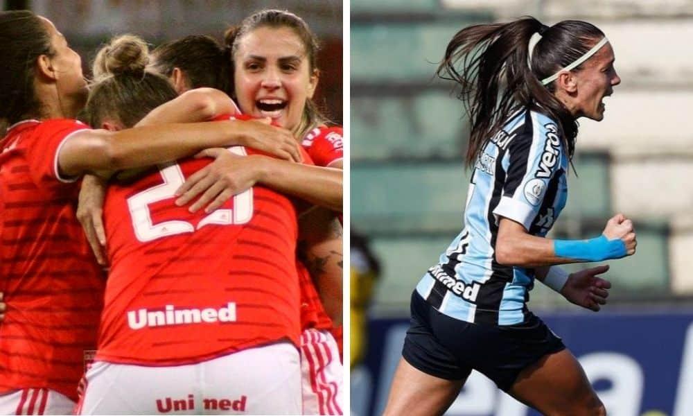 Internacional e Grêmio goleiam na rodada do Gaúcho feminino de futebol