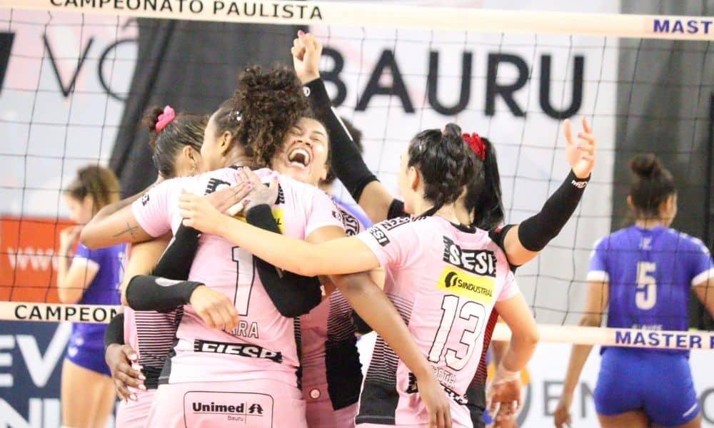 Sesi Bauru x Barueri - Paulista feminino de vôlei