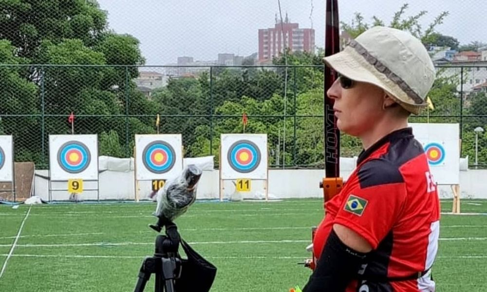 Fabíola Dergovics campeã brasileiro de tiro com arco paralímpico vaga mundial