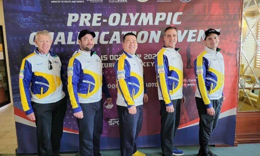 curling masculino classificatório pré-olímpico pequim-2022