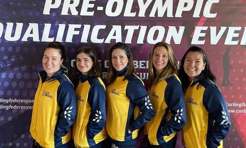 seleção brasileira de curling feminino torneio classificatório pré-olímpico pequim-2022