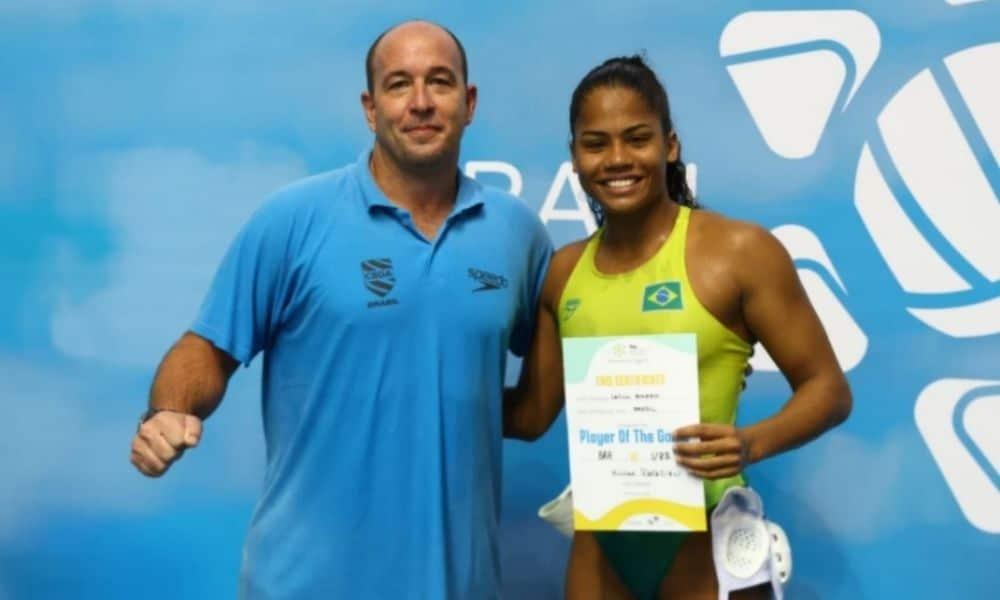 Leticia Belorio brasil polo aquático mundial júnior