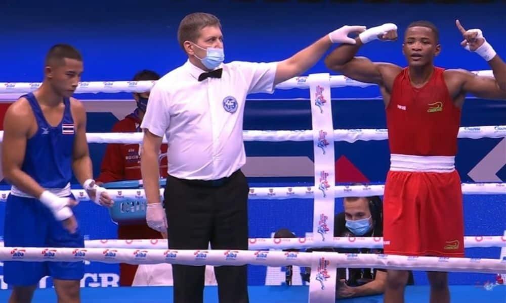 wanderson oliveira mundial de boxe masculina