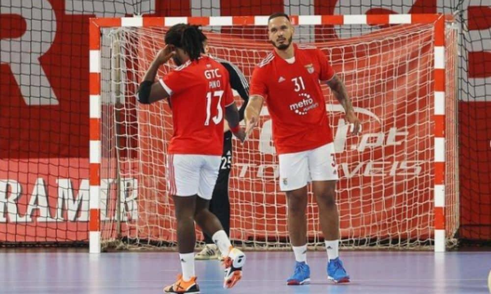 Benfica, de Rogério Moraes, vence na Liga Europeia de Handebol