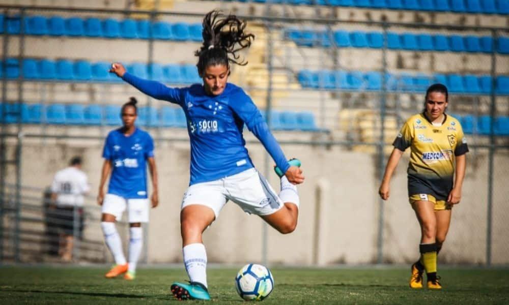 Duda cruzeiro x atlético-mg campeonato mineiro de futebol feminino