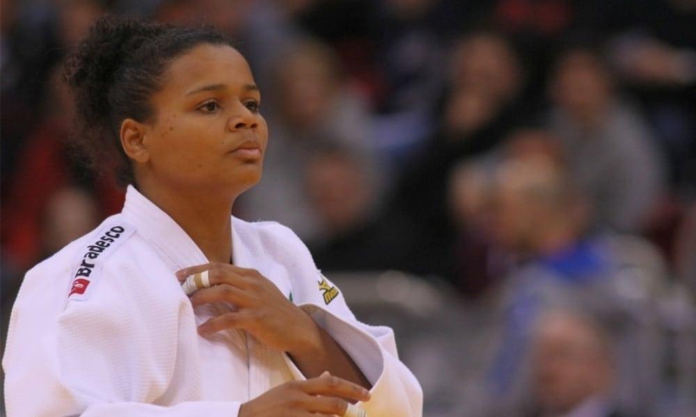 Ellen Santana perde o bronze e fica em 5º no Grand Slam de judô de Paris
