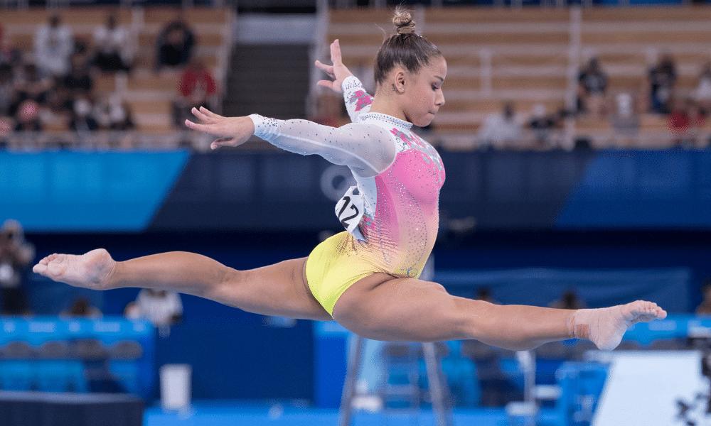 Flávia Saraiva na Trave, pelos Jogos Olímpicos de Tóquio