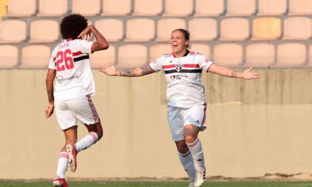 Glaucia - São Paulo x Realidade Jovem - Campeonato Paulista de futebol feminino