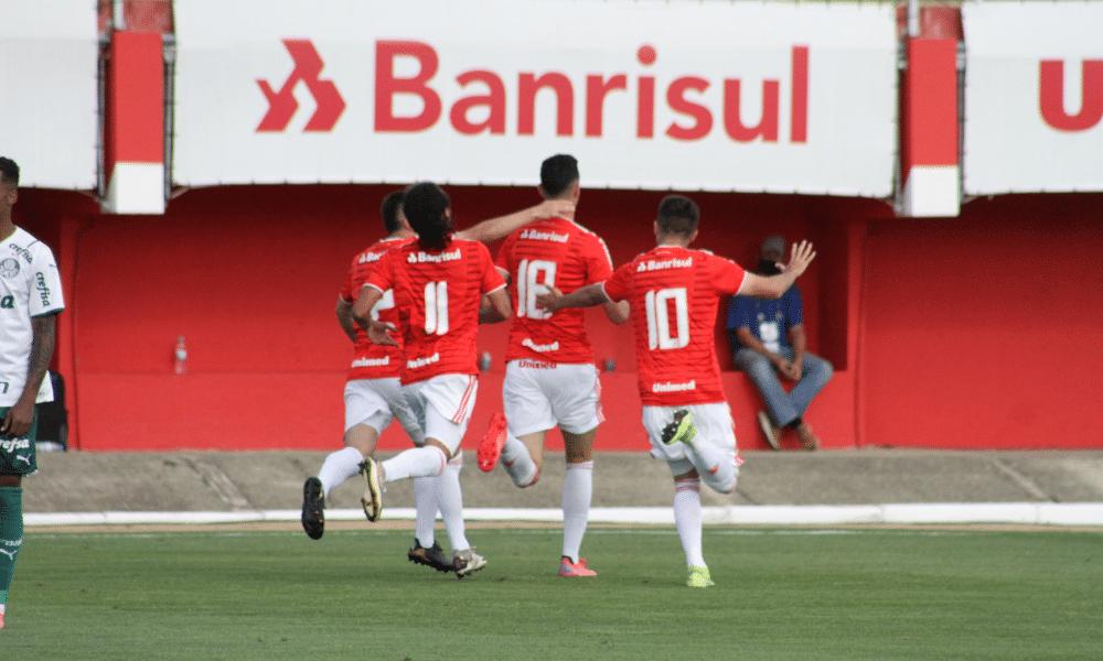 Internacional x Palmeiras - quartas de final Brasileiro Sub-20 -