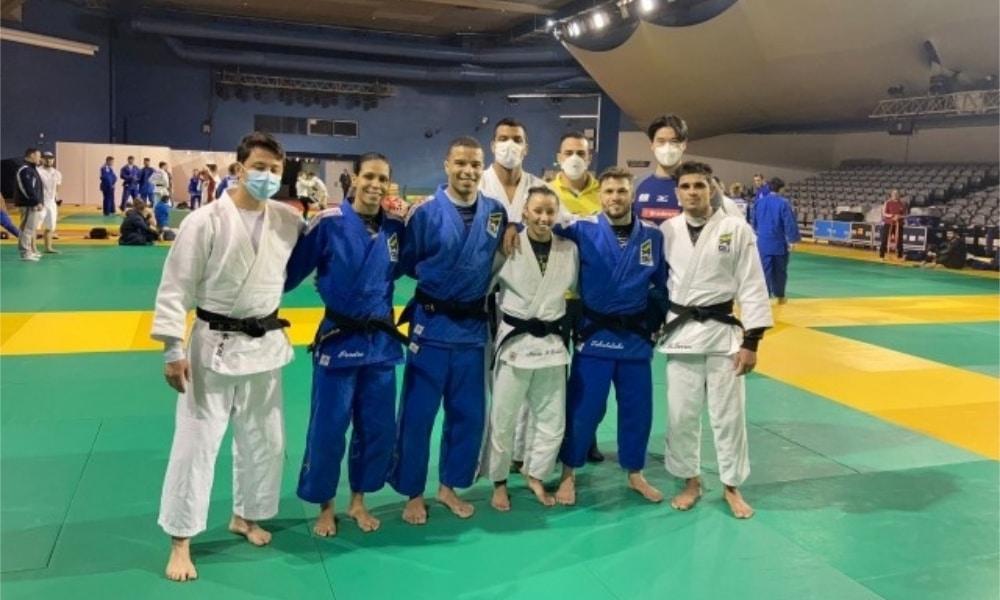 Seleção faz primeiro treino antes do início do Grand Slam de judô de Paris