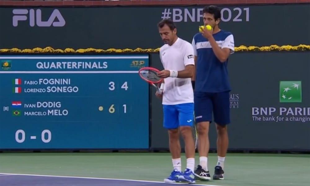 Marcelo Melo e Ivan Dodig avançam à semifinal em Indian Wells