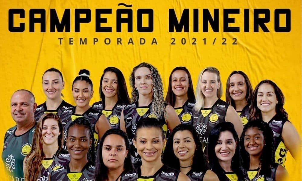 PRaia Clube Minas Cameponato Mineiro de vôlei feminino