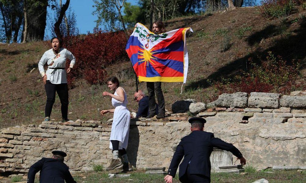 Protestos Grécia Pequim 2022
