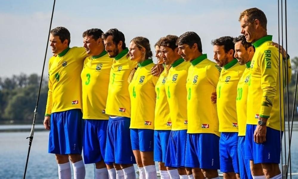 Brasil perde a 1ª regata e fica com vice no evento-teste da SSL Gold Cup