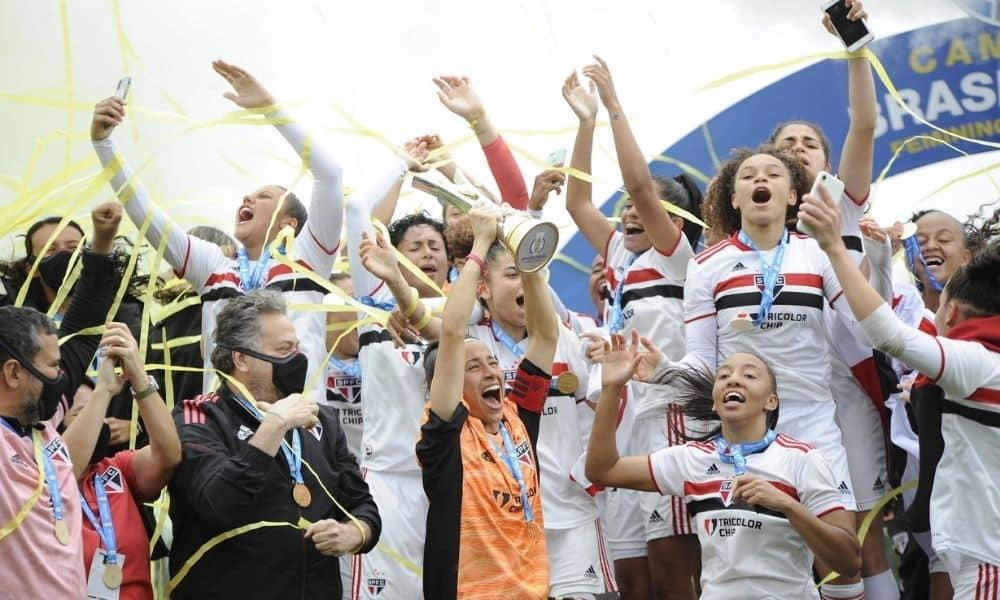 São Paulo campeão final contra o Corinthians Brasileiro Sub-18 de futebol feminino
