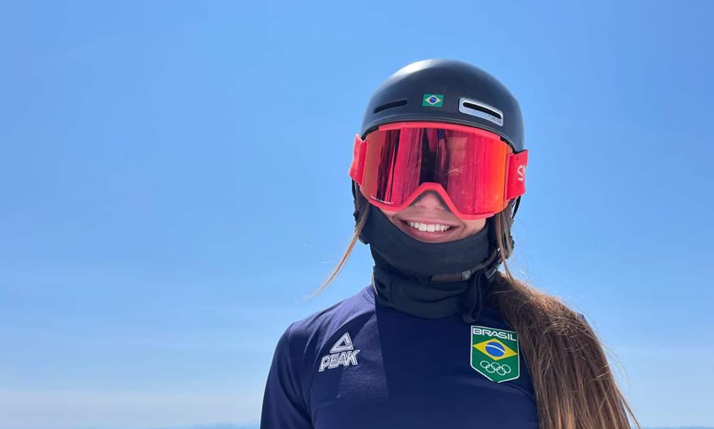Sabrina Cass representa o Brasil no Esqui Freestyle Moguls