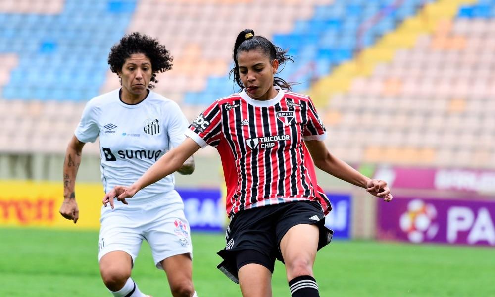 São Paulo vence o Santos no jogo de ida da semifinal do Paulistão Feminino