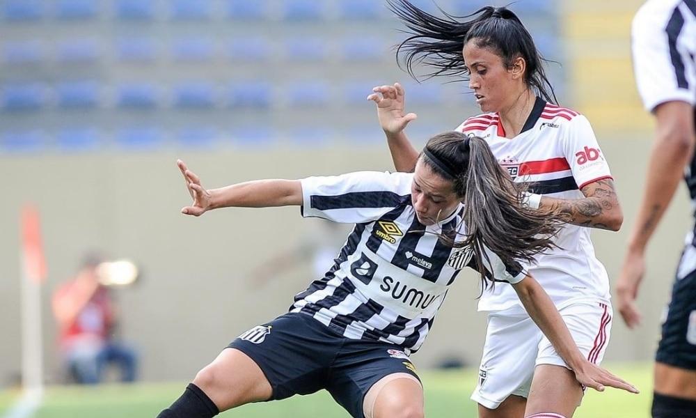 Santos e São Paulo duelam na semifinal do paulistão feminino