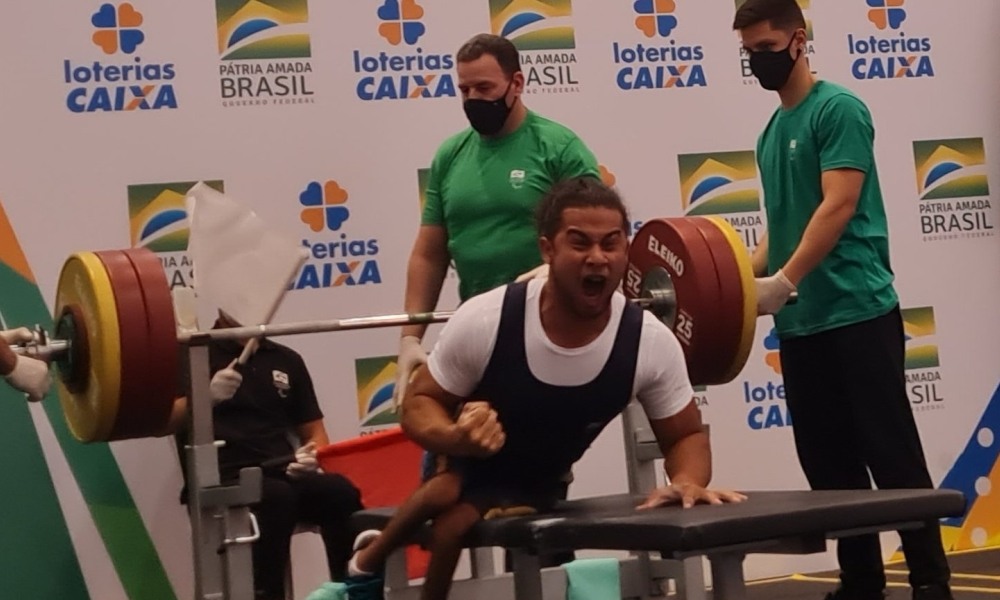 Atletas conseguem índice para o Mundial de halterofilismo paralímpico