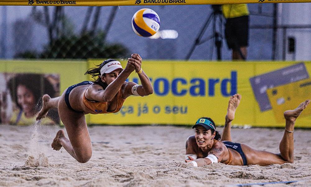 Ágatha Duda terceira etapa Circuito brasileiro vôlei de praia