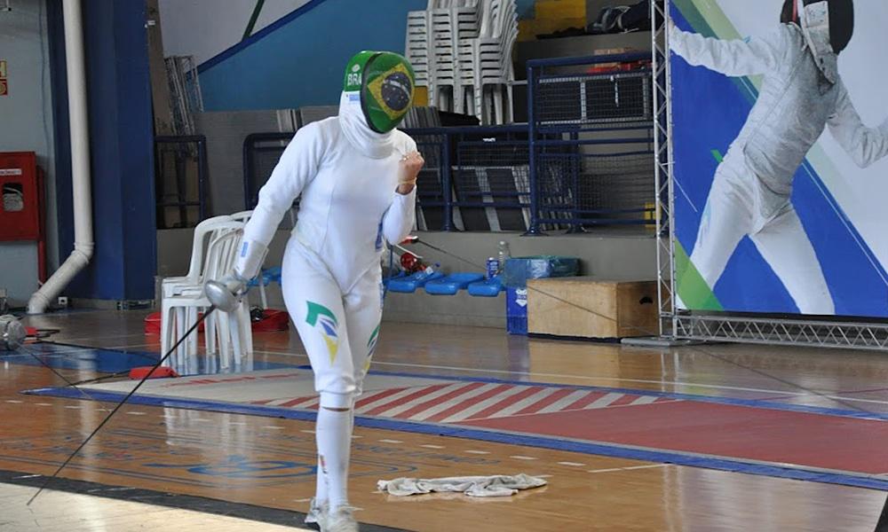 Amanda Simeão Campeonato Brasileiro de esgrima