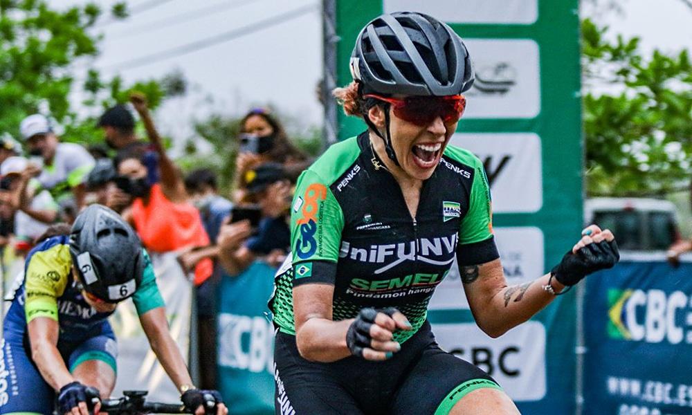Ana Paula Polegatch Campeonato Brasileiro de Estrada Ciclismo