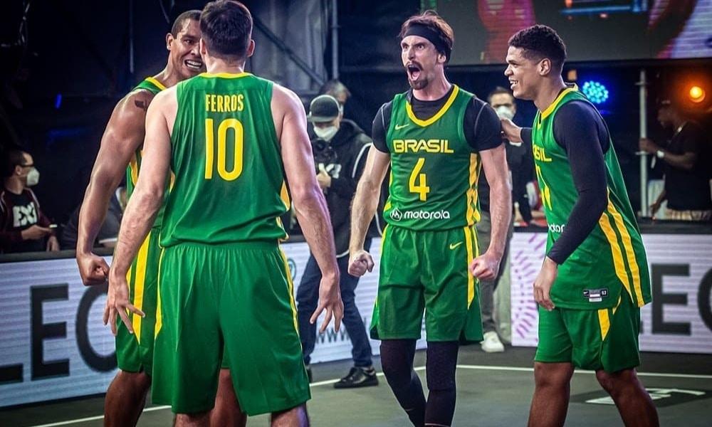 Brasil disputará a primeira AmeriCup de basquete 3x3
