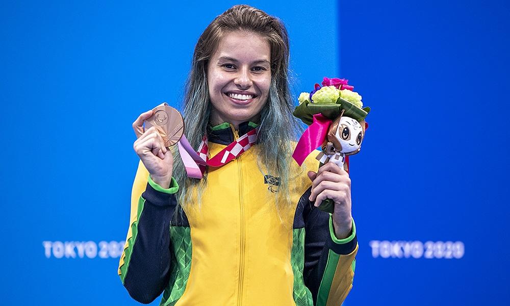 Beatriz Carneiro natação Jogos Paralímpicos de Tóquio Paralimpíada Meeting Paralímpico Curitiba