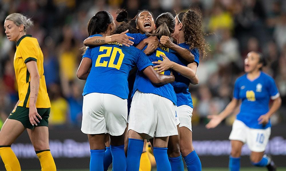 Brasil Austrália amistoso futebol feminino ao vivo seleção brasileira de futebol feminino