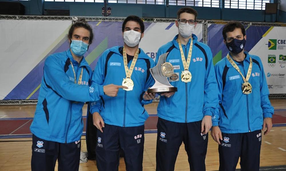 Campeonato Brasileiro de Esgrima florete masculino Rio Grande do Sul campeão