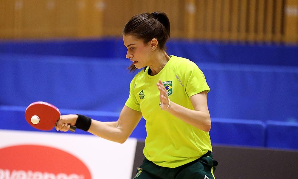 Bruna Takahashi tênis de mesa Jogos Olímpicos de Tóquio treino WTT Contender de Túnis