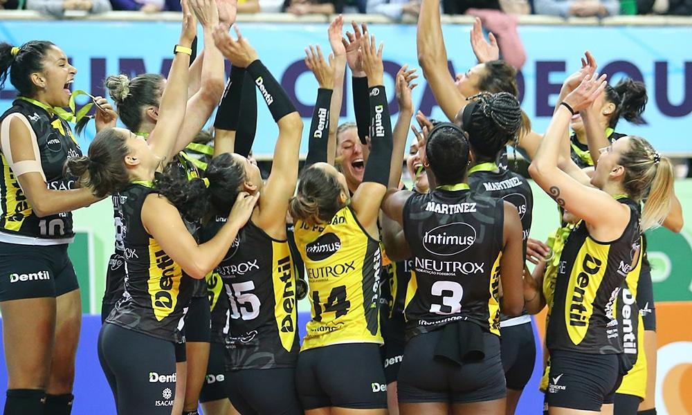 Dentil Praia Campeonato Sul-Americano feminino de clubes vôlei feminino