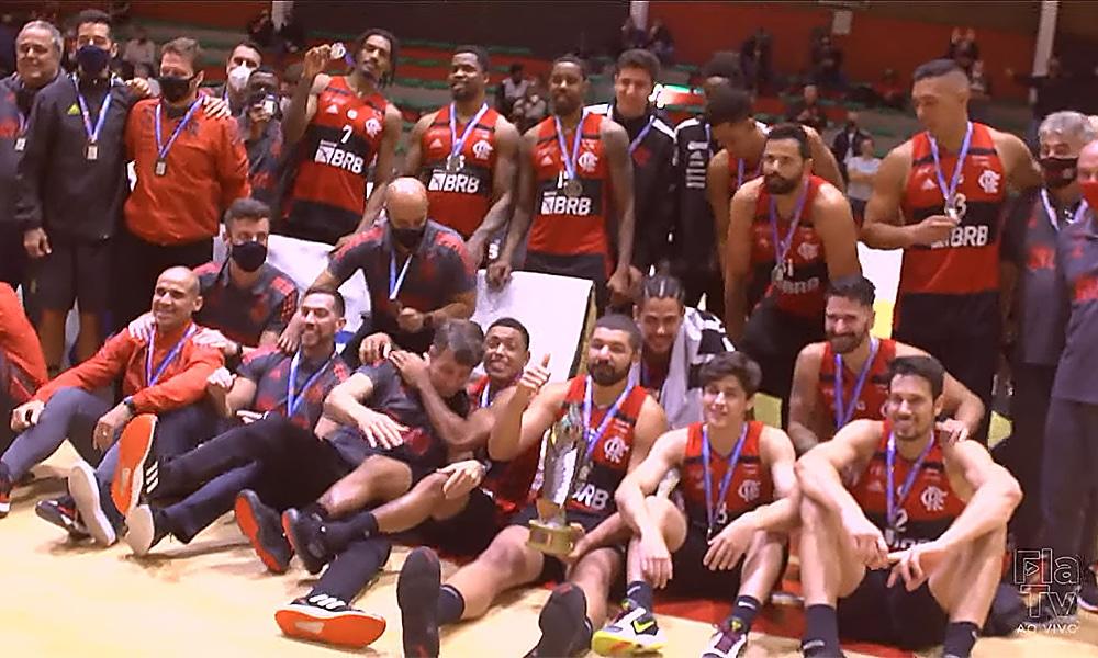 Flamengo campeão Campeonato carioca basquete masculino