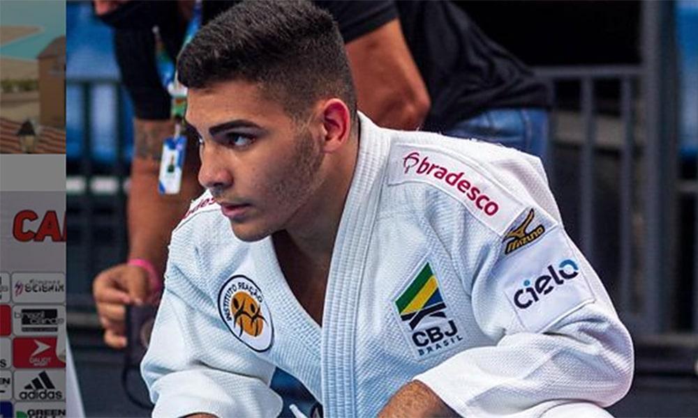Gabriel Falcão Mundial Júnior de judô
