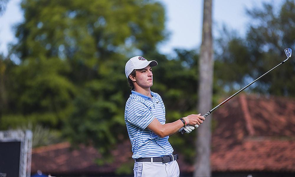Gabriel Gallego Sul-Americano Juvenil de golfe