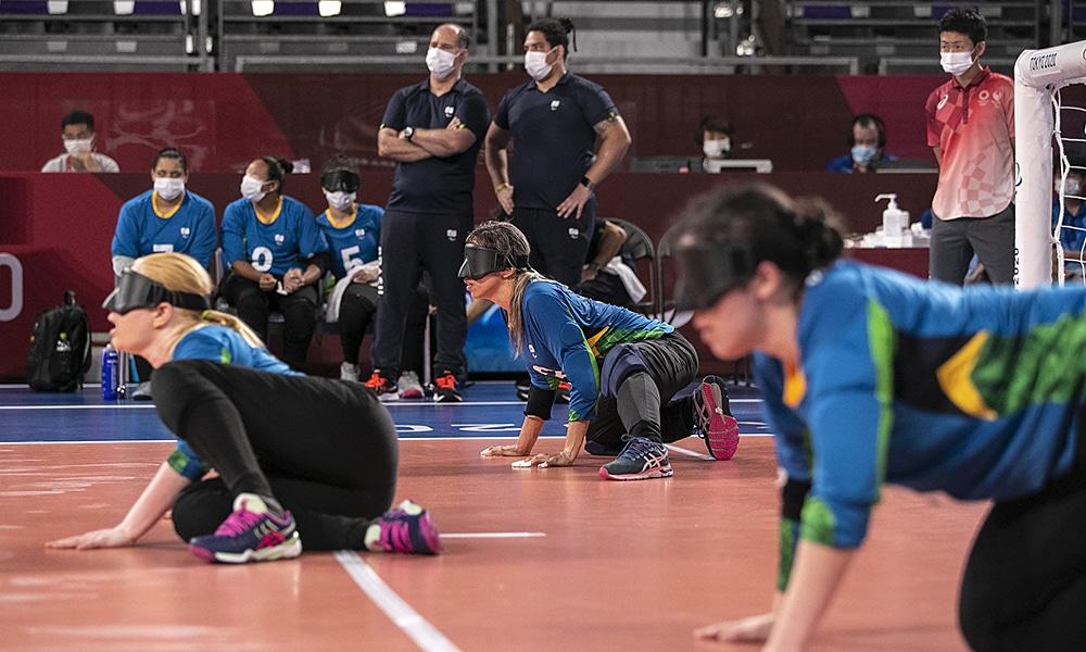 Jônatas Castro seleção brasileira de goalball feminino Jogos Paralímpicos Tóquio 2020