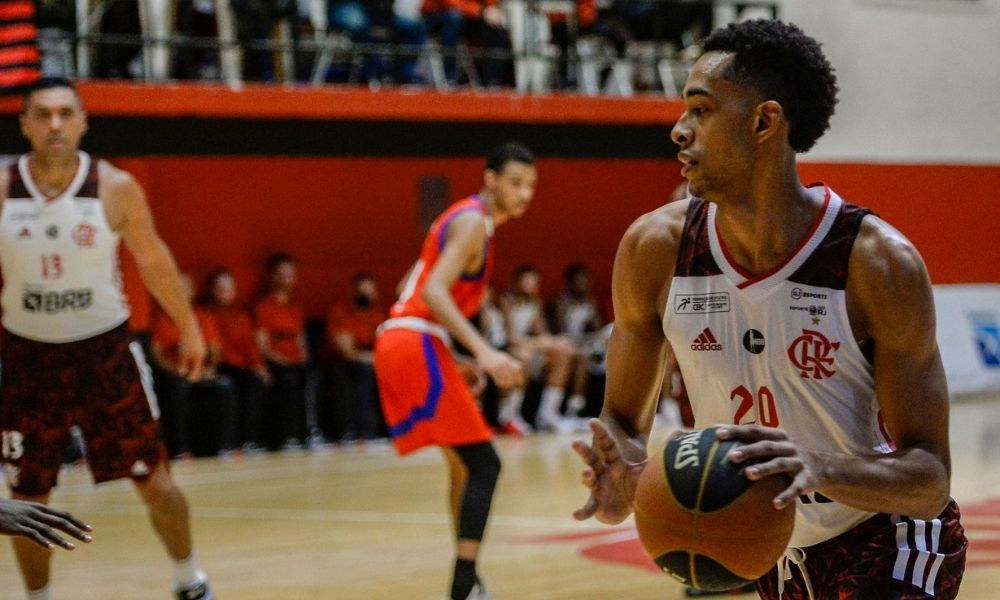 rafael rachel flamengo x municipal campeonato carioca de basquete masculino
