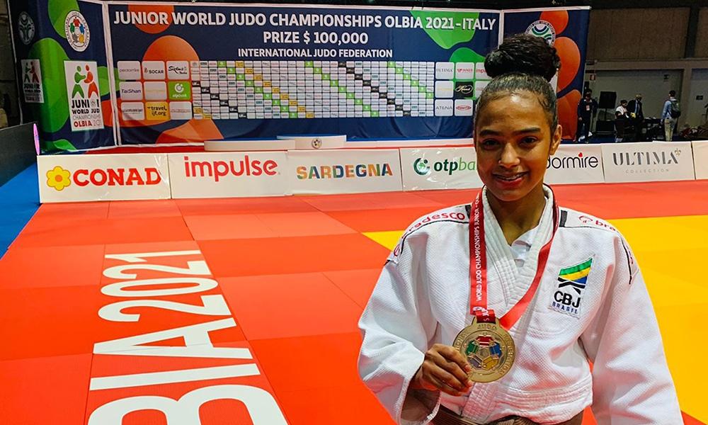 Rafaela Batista Campeonato Mundial Júnior de judô medalha de bronze