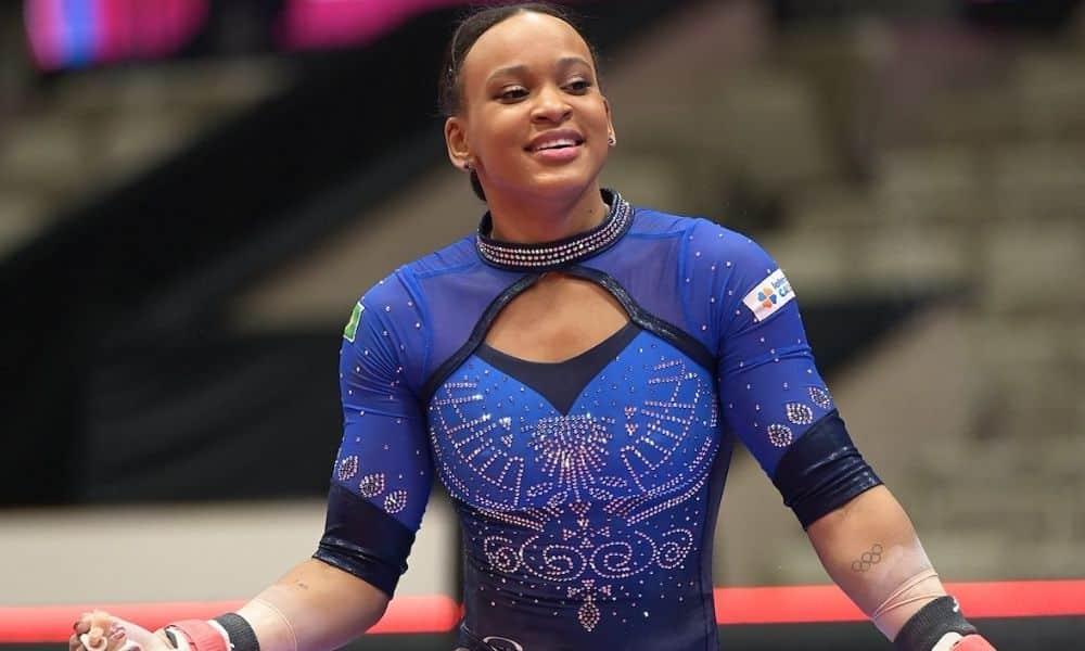 rebeca andrade ao vivo mundial de ginástica artística