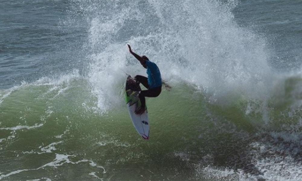 Samuel Pupo Challenger Series surfe portugal brasileiros