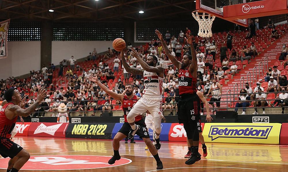 São Paulo Flamengo NBB basquete masculino